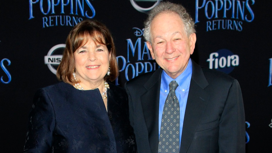 Ina Garten and Jeffrey Garten at the 'Mary Poppins Returns' Premiere