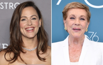 Jennifer Garner and Julie Andrews