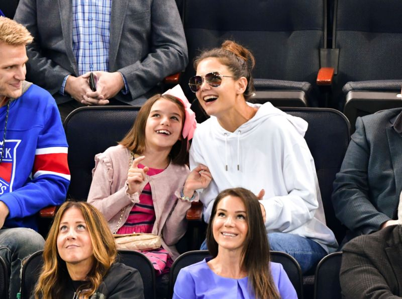 Katie Holmes out and about, New York, America - 30 May 2014