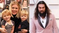kelly clarkson kids and jason momoa
