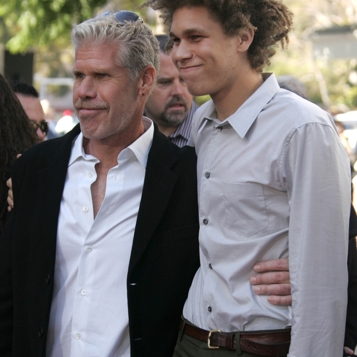 Ron Perlman Is the Proud Dad of 2 Kids! Get to Know Daughter Blake and Son Brandon