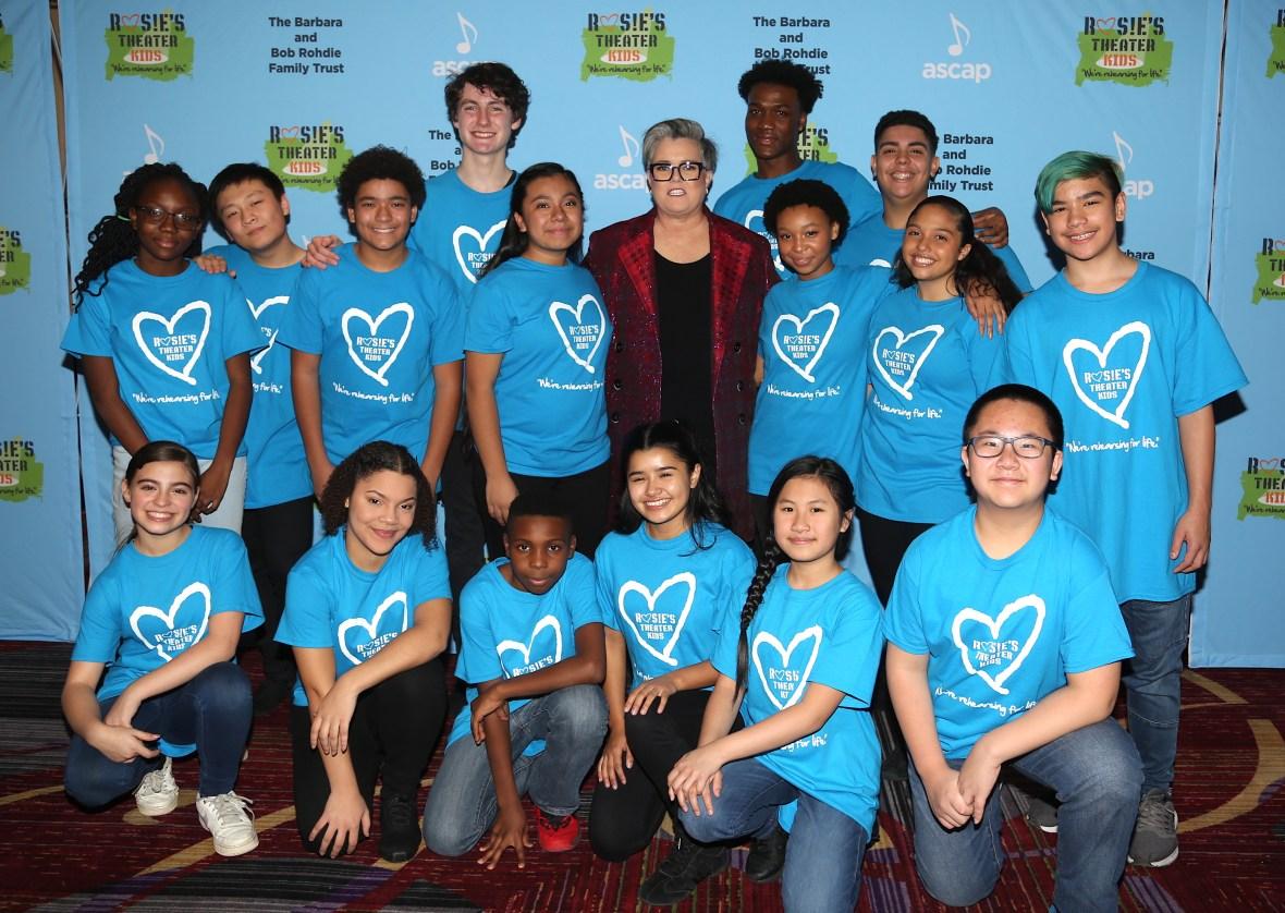 Rosie O'Donnell and Rosie's Theater Kids Children