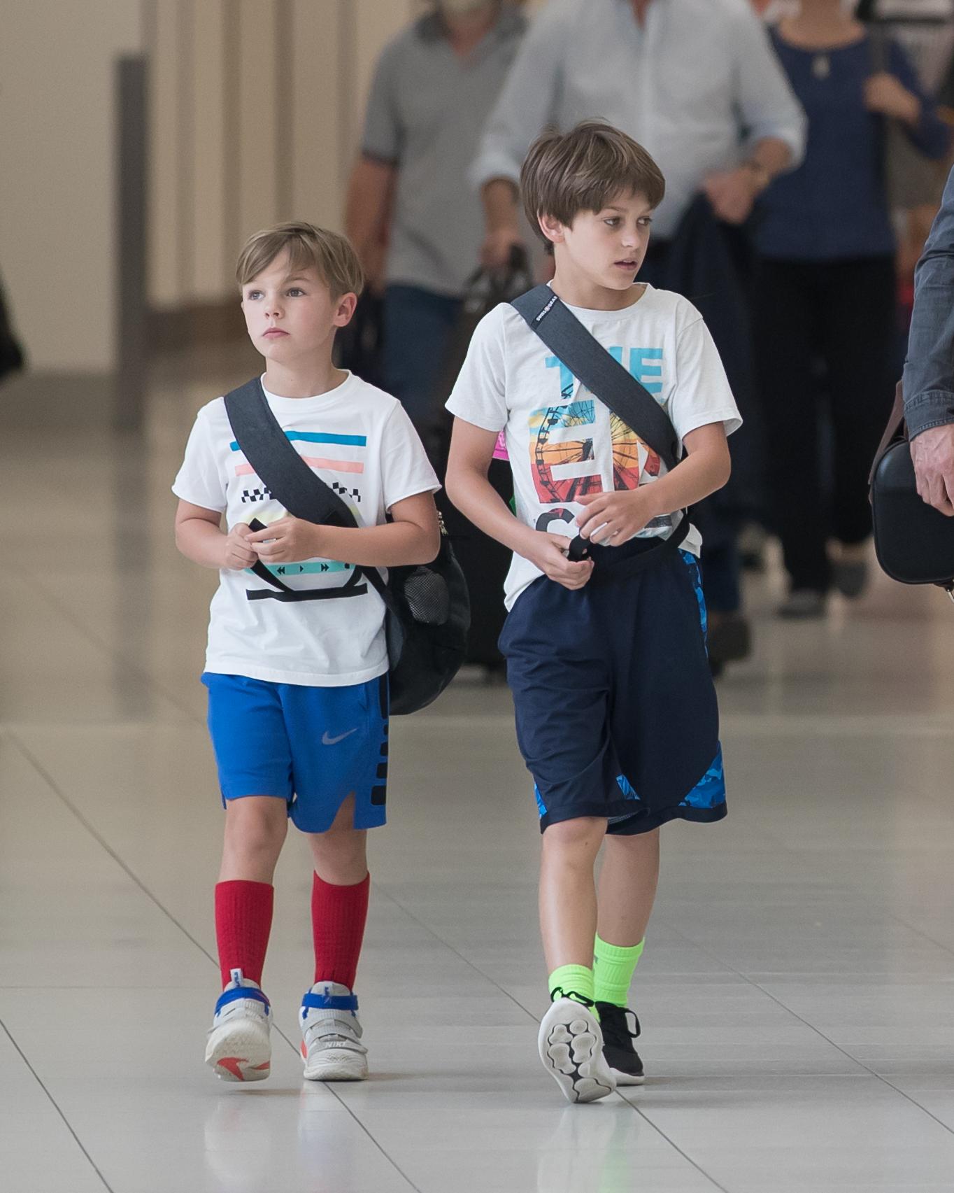 Sheryl Crow's kids, sons Levi and Wyatt