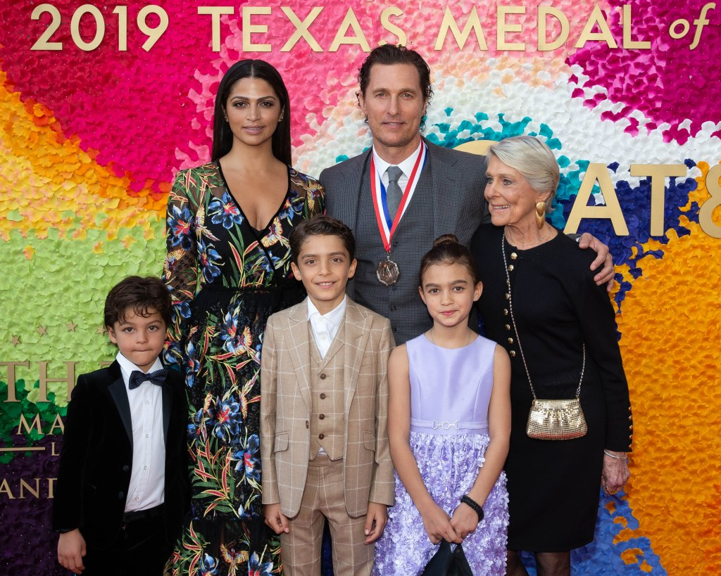 Matthew McConaughey family