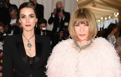 Anna Wintour and her daughter Bee