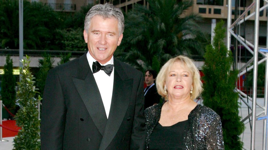 Patrick Duffy and his wife