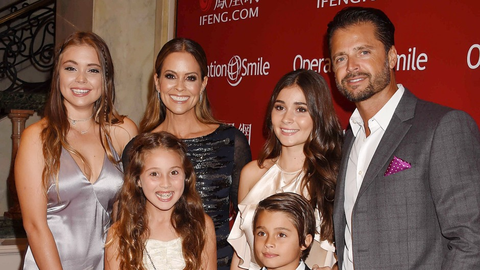 Brooke Burke family