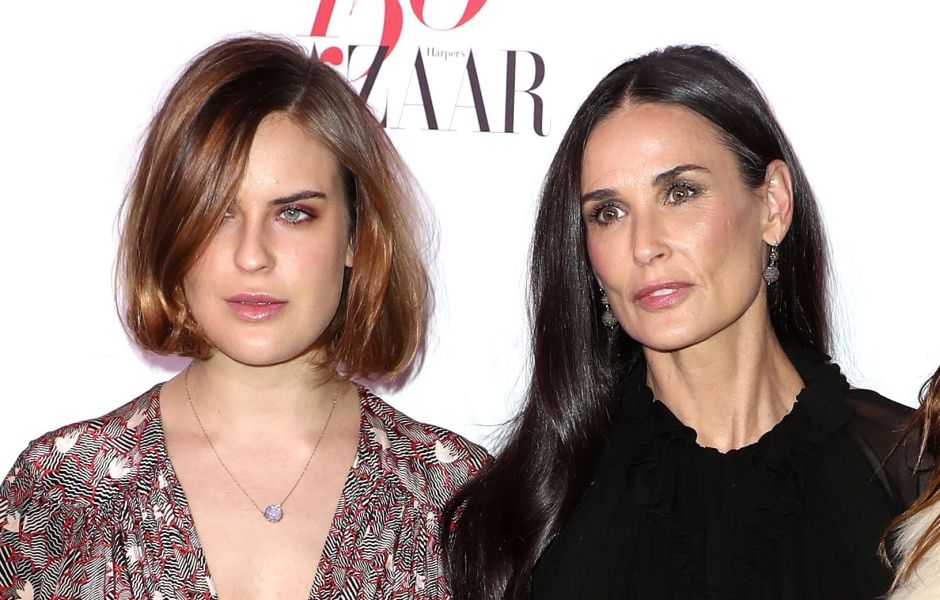 Tallulah Demi Moore and Scout Willis
