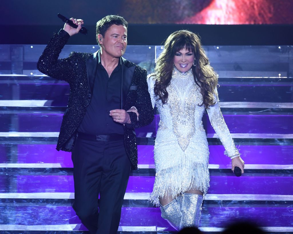 Donny and Marie Osmond in concert, Hollywood, Florida, USA - 28 Jun 2018