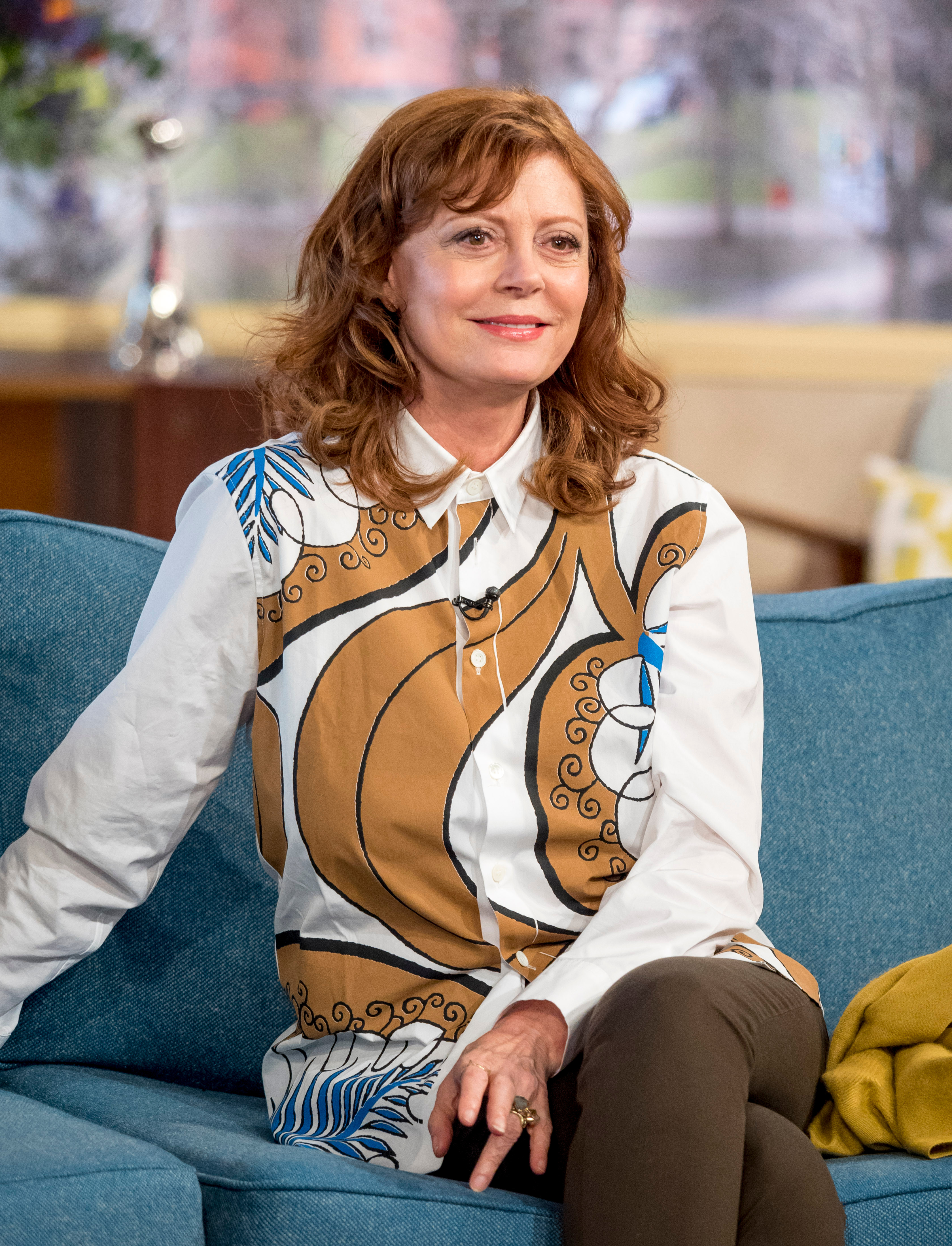 Susan Sarandon Posts Selfie of Bruised Eye, Calls Herself 'Lucky' After Suffering Concussion