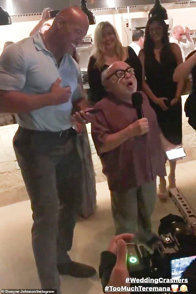 Dwayne Johnson Danny DeVito