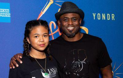 Wayne Brady and Daughter Maile Masako Brady