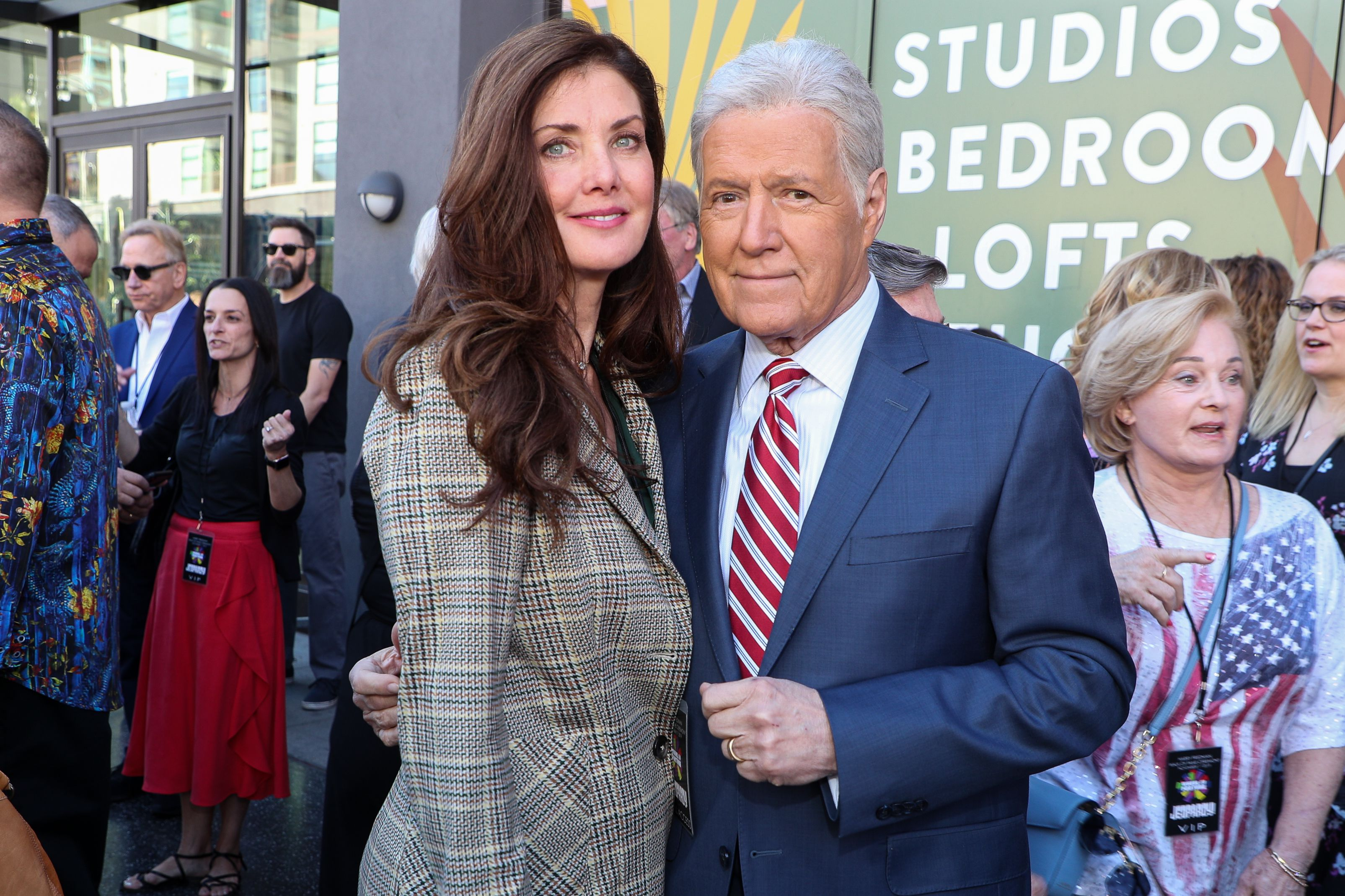 Alex Trebek's Wife Reveals How She Uses 'Sound Healing' to Help Her Husband Fight Cancer
