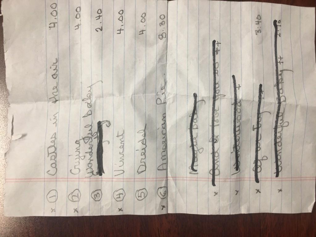 AlexTrebek_handwritten-set-list
