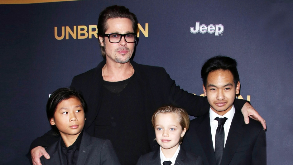 Brad Pitt Gushes Over His Kids During New Interview
