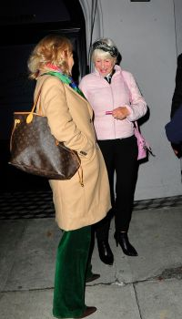 Helen Mirren and Taylor Hackford Date Night