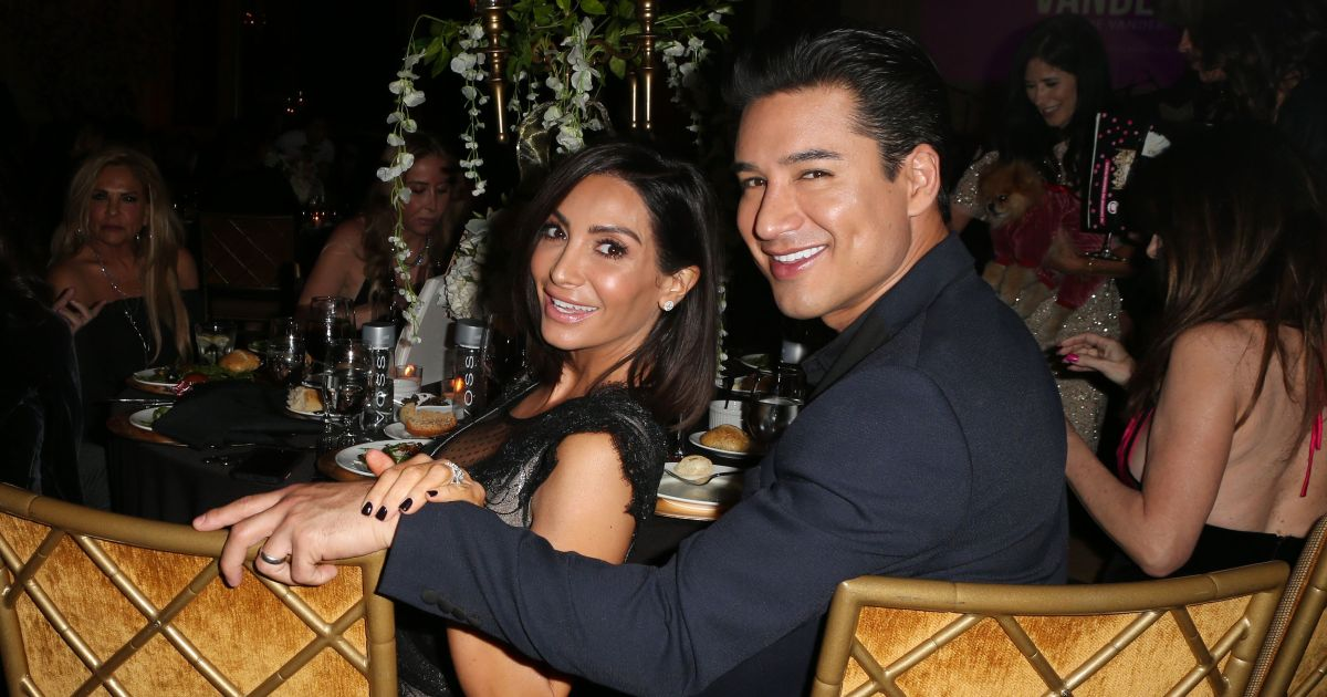 Mario Lopez Wants More Kids With Wife Courtney Mazza