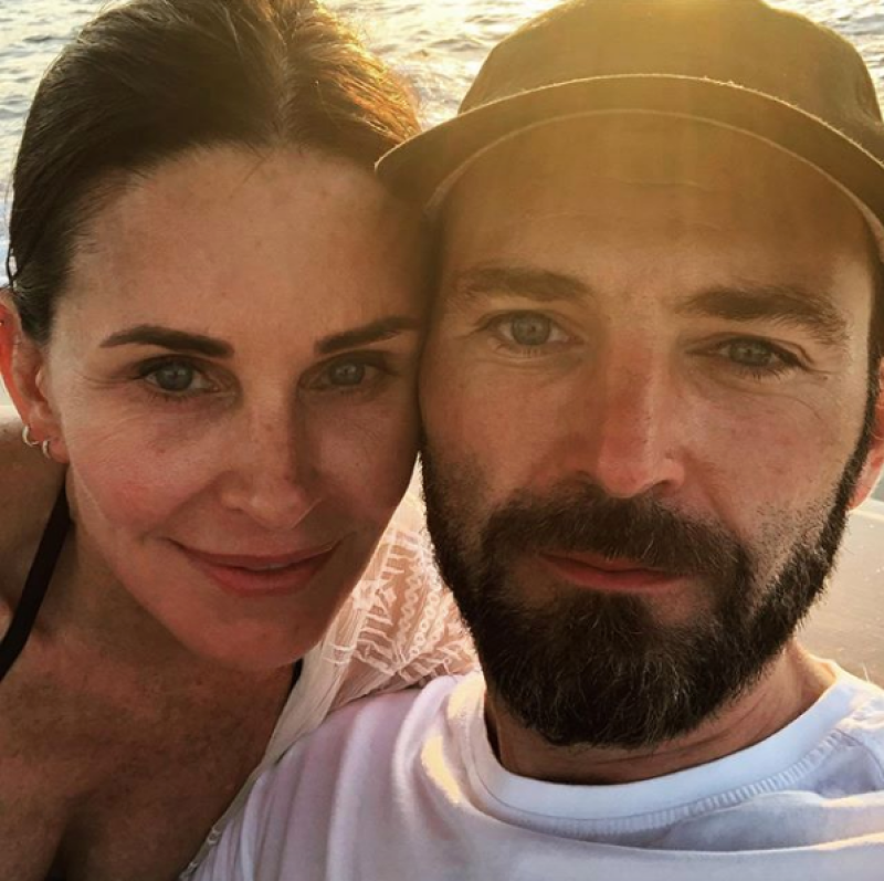Courteney Cox Johnny McDaid