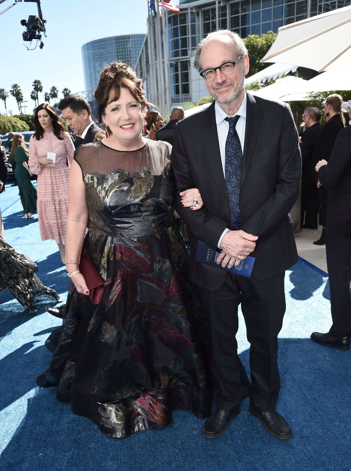 Ann Dowd and Lawrence Arancio