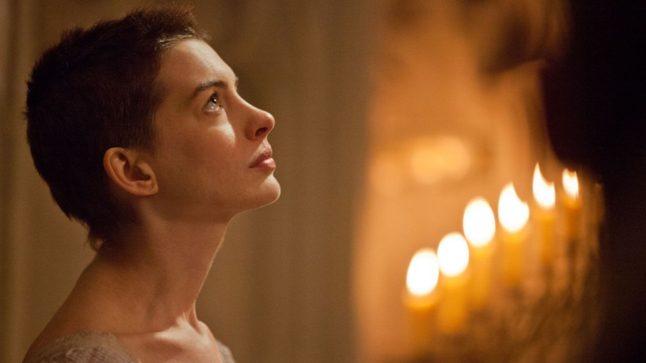 Anne Hathaway as Fantine With Short Hair in 'Les Misérables'