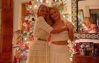 Christie Binkley and daughter Sailor