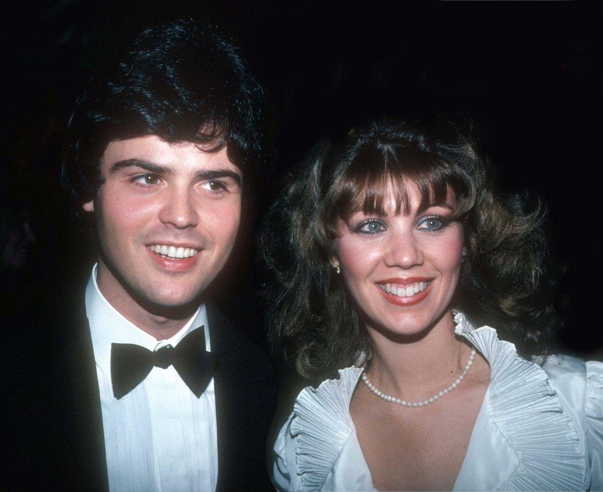 Donny Osmond and Debbie Osmond