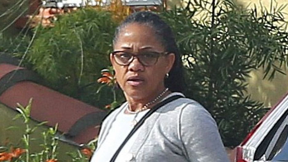 Doria Ragland seen out for a walk in Los Angeles, Doria is rumored to be spending Christmas with her daughter Meghan Markle and prince Harry