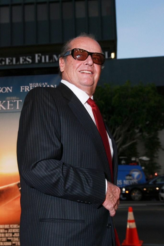 'The Bucket List' film premiere Los Angeles, America - 16 Dec 2007