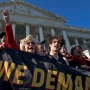 Climate Protest Fonda, Washington, USA - 29 Nov 2019