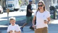 Jennifer Garner and Son Samuel