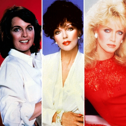 Joan Collins, Linda Gray and Donna Mills Then