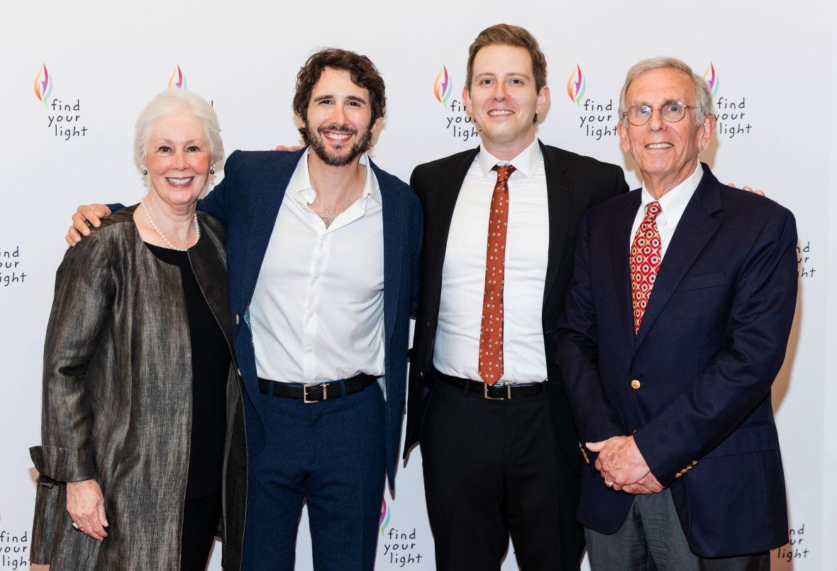 Josh Groban and Family