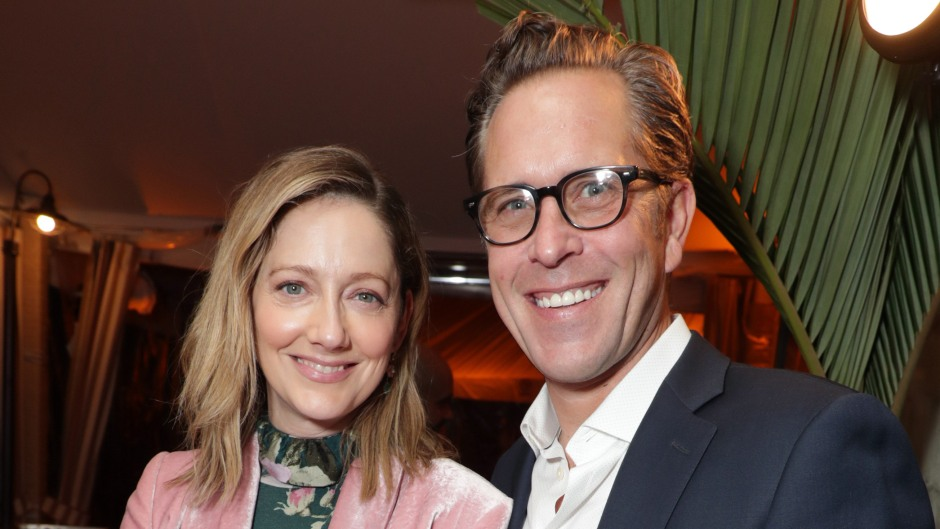 Judy Greer and Husband Dean E. Johnsen