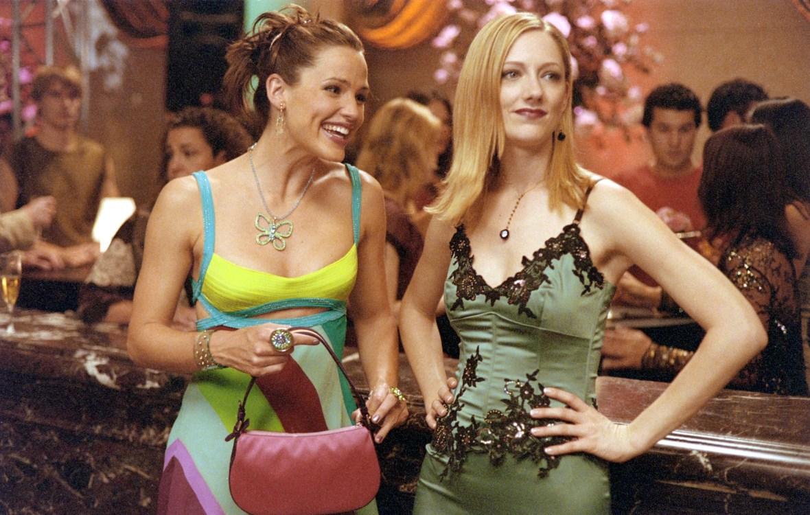 Judy Greer and Jennifer Garner in '13 Going on 30'
