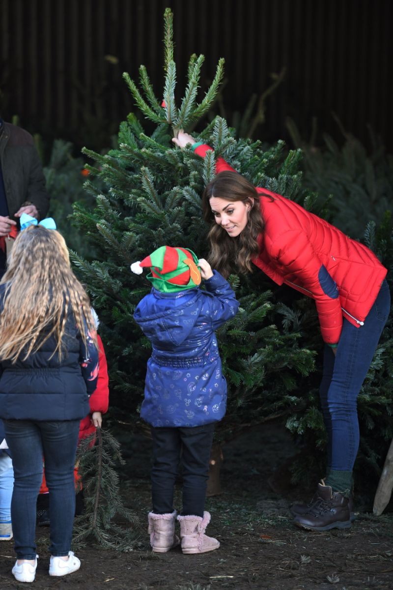 Catherine Duchess of Cambridge marks new patronage of Family Action, Peterley Manor Farm, Great Missenden, Buckinghamshire, UK - 04 Dec 2019