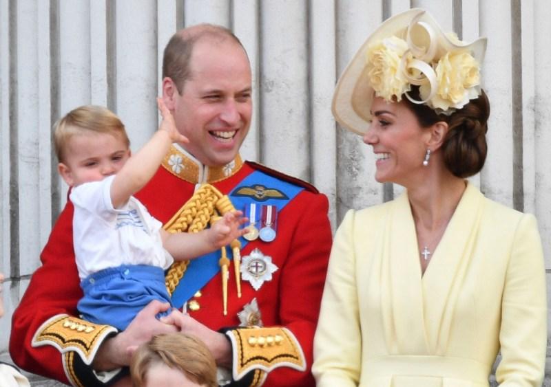 Kate Middleton Prince Louis Prince William