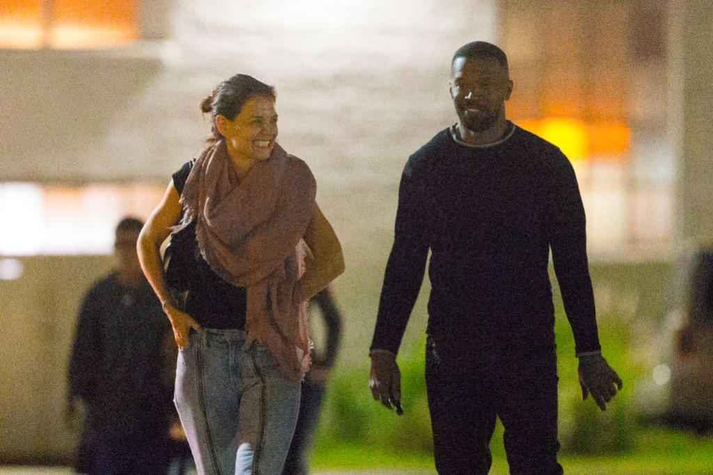 Katie Holmes and Jamie Foxx enjoy a romantic date night in New Orleans