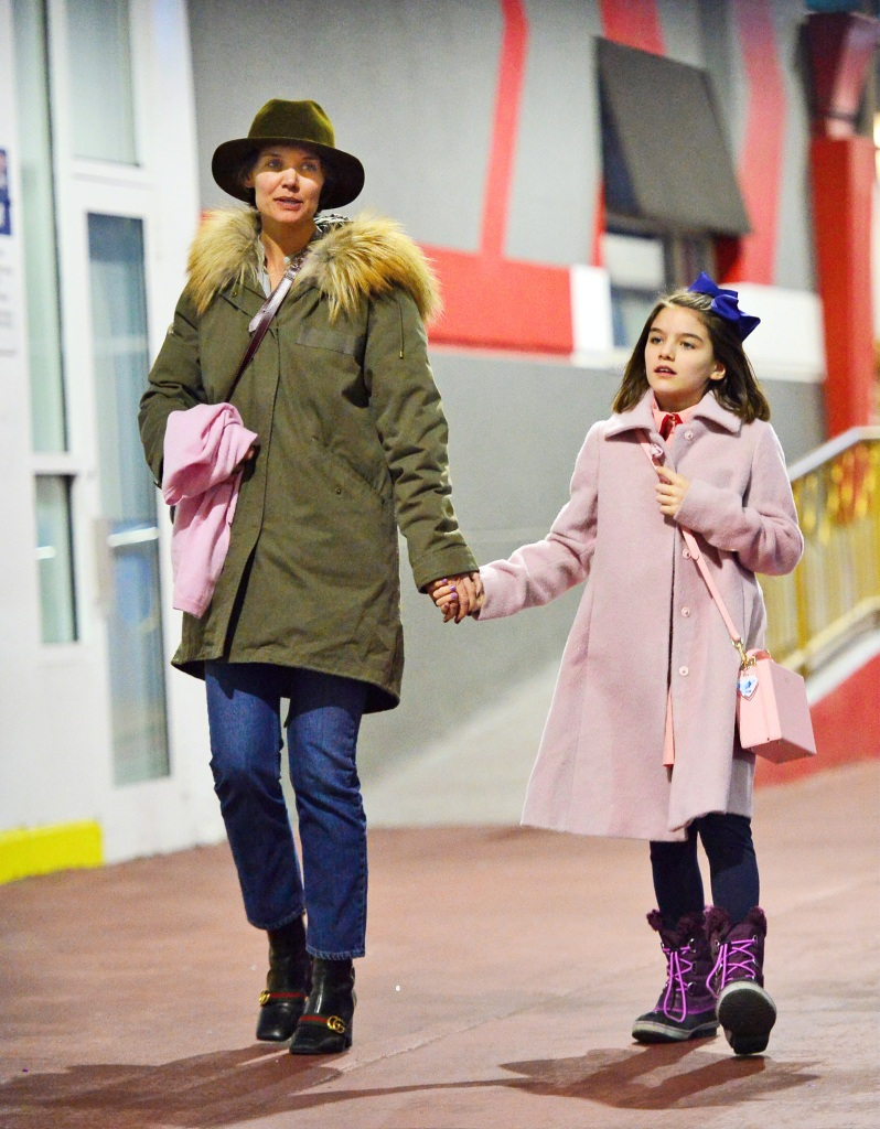 Katie Holmes and Suri Cruise enjoy a mother-daughter day out in NYC
