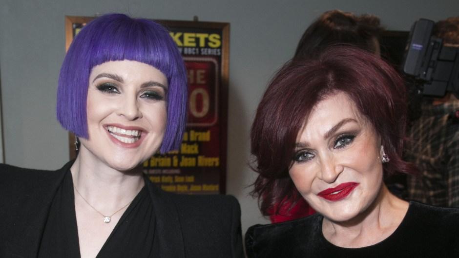 Sharon Osbourne Kelly Osbourne
