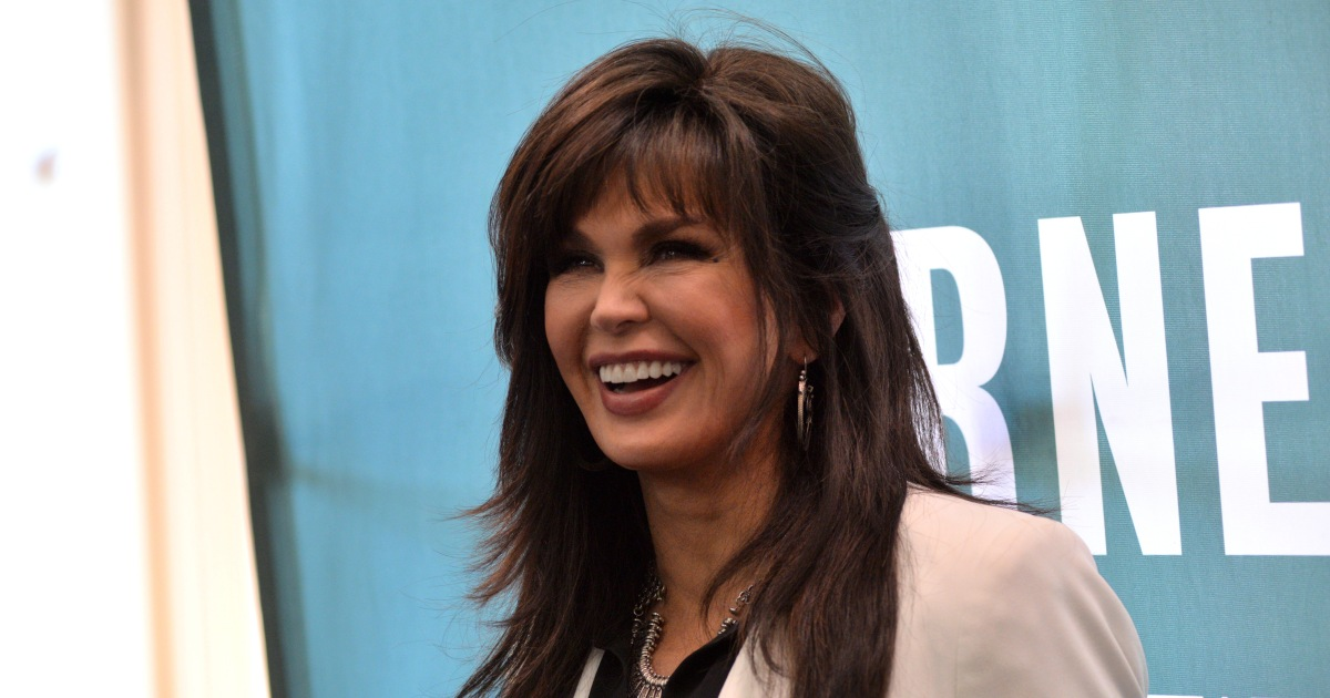Marie Osmond Shares Cute Photos as She Participates in the Viral 'Dolly Parton Challenge'