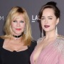 Melanie Griffith and Dakota Johnson