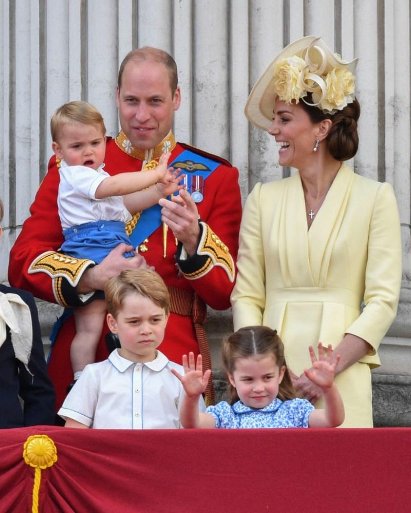 Prince George Princess Charlotte kate middleton prince william