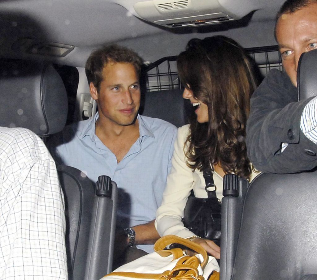 Prince William and Catherine Middleton leaving Boujis nightclub, London, Britain - 07 Sep 2006