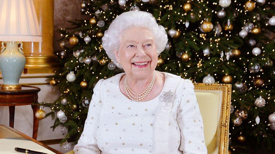 Queen Elizabeth II Christmas Day Broadcast, London, UK - 25 Dec 2017