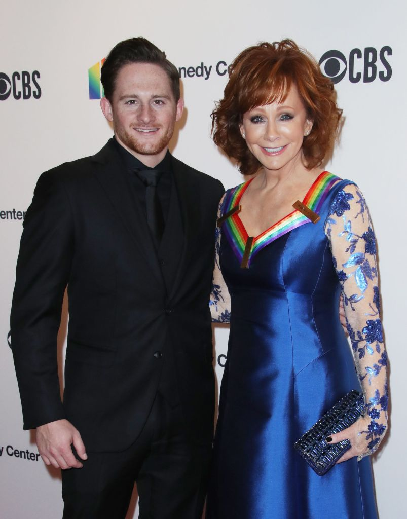 Reba McEntire and Son Shelby