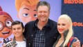 Blake Shelton and Gwen Stefani family