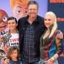 Blake Shelton and Gwen Stefani family