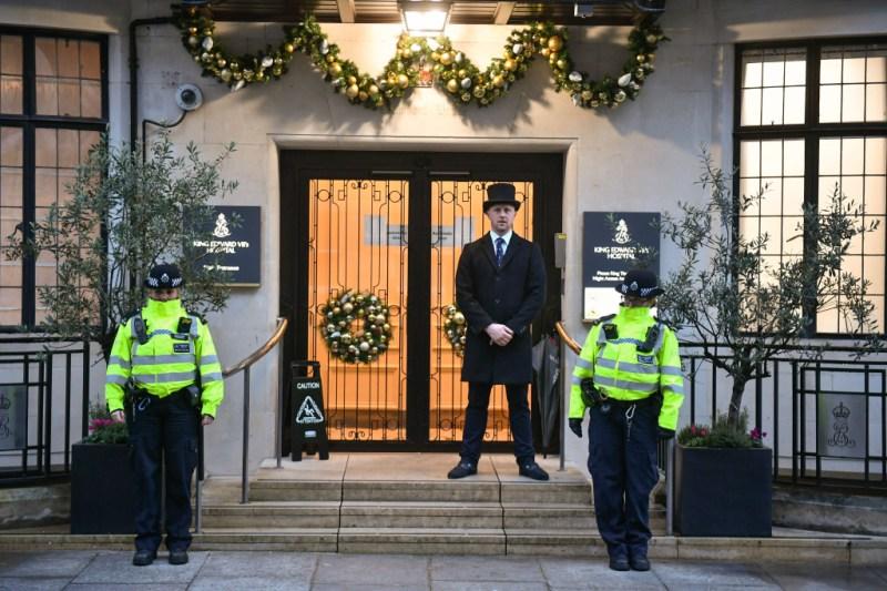 Prince Philip Duke of Edinburgh admitted to hospital, London, UK - 20 Dec 2019
