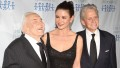 Michael Douglas, Kirk Douglas and Catherine Zeta-Jones