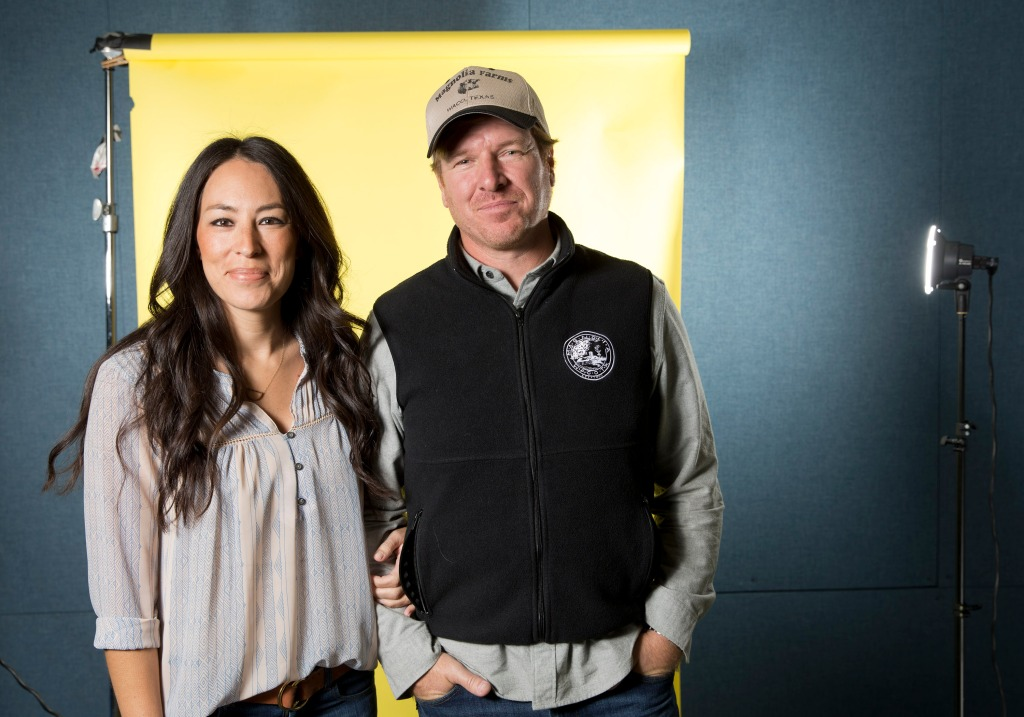 Chip and Joanna Gaines Portrait Session, New York, USA